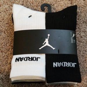 Air Jordan Crew Socks, 6-Pack